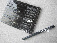 Wholesale Colour Pencils - Wholesale new arrival hot selling makeup eyeliner pencil waterproof colours black 12 pcs lots Free Shipping