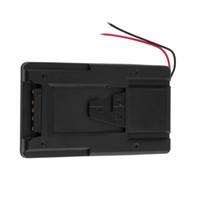 Wholesale V Mount Plate - Battery Adapter Plate Converter For Sony V-Lock V-mount Battery Power Supply Gusset Hanging board V-shaped fixing plate RL-ST V fixed
