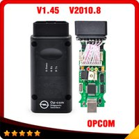 Wholesale Top Auto Code Readers - 2016 Top selling opcom V1.45 OP com v2010 auto diagostic tool for Opel free shipping
