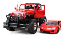 Wholesale Large Remote Controlled Hummer - Very large remote control car can charge the battery door hummer suv dynamic drift car model boy toys for children