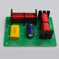 Hifi-filter Kaufen -Freeshipping 3 Weise HiFi Audio Lautsprecher Frequency Divider Stereo Crossover Filter DIY Audio Autolautsprecher