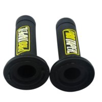 """Wholesale Yellow Motorcycle Grips - Protaper Handle Grips FOR 7 8"""" 22mm HandleBar hand grips Yellow with Dirt pit bike , Motorcycle , ATV Quad"""