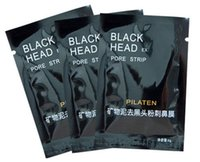 Wholesale black head removed mask online - PILATEN Suction Black Mask Face Care Mask Pore Strip Deep Cleansing Nose Acne Blackhead Facial Mask Remove Black Head mask DHL