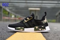 2017 NMD Runner R1 Primeknit CAMO boost sneaker factory outlet Originale DONNA's Lover's Running Scarpe sportive Taglia US5-US