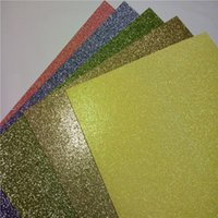 Wholesale Wholesale Custom Designs China - Pink Black and Gold Glitter cardstock Paper 50 sheets Custom Design