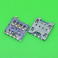 Wholesale-2pcs / Lot Brand New Per Holder Blackberry Q10 Z10 SIM Card Reader vassoio Socket Slot di trasporto
