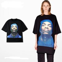 Wholesale Long Tee Shirts For Women - Vetements Snoop Dogg Icon Printed Over Size Short Sleeves T Shirts For Men Women 2016 Summer Collection Loose Comfortable Nice Tees