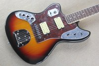 Wholesale Electric Guitar Jaguar Sunburst - ALL NEW JAGUAR Jaguar left-handed left-handed electric guitar sunset color special
