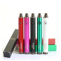 Wholesale Ego Twist Free Shipping - Vision Spinner 2 1650mAh Ego twist 3.3 4.8V vision spinner II variable voltage battery for E_cigarette ego atomizer free shipping