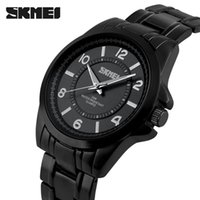 Wholesale Diving Watches Man - Watches men Sports wristwatch Brand skmei luxury Quartz black Full Steel military Dive men's clock reloj relogio masculino 2015