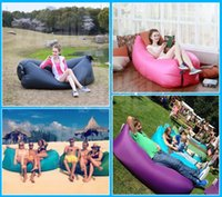 Wholesale Inflatable Field - 2016 New Beanbag new free inflatable inflatable sofa sofa portable inflatable sofa for children and adults for sandy beach field