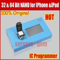 Wholesale Iphone4 Tools - 2 in 1 32 64 Bit NAND Flash IC Chip Programmer tool fix repair Motherboard HDD chip serial number SN for iPhone4 4S 5 5C 5S 6 6P for IPAD