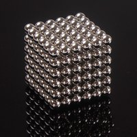 Wholesale 216pcs mm mm Magic Cube Magnetic Balls Puzzle Cube with metal box Adult Relax de stress Game Toys Birthday Present Gift Buck Balls