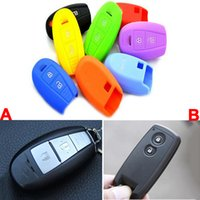 Купить Ключевой Протектор Для Автомобилей-Keyless Entry Remote Key Cover Fob Skin Case Protector Car Key Cover для Suzuki Swift Alto SX4 Grand Vitara Splash Auto Keychain