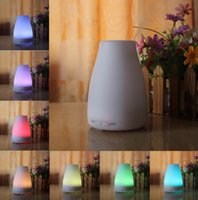 2016 100ml Huile Essentielle Diffuseur Portable Aroma Humidificateur Diffuseur LED Night Light ultrasonique à brume fraîche Fresh Air Spa Aromathérapie