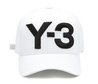 chapeaux de logo sportif achat en gros de-Top Fashion Y-3 Papa Chapeau Big Bold Logo brodé Casquettes de baseball Chapeaux Strapback réglable Y3 os Snapback sport Casquette visière gorras