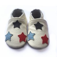 Wholesale Popular Shoe Wholesale - Most popular wholesale genuine leather baby shoes soft sole baby leather shoes infant baby walking shoes