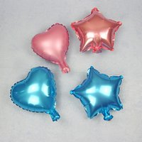 Wholesale Star Shaped Balloons - Star Shape Aluminium Foil Balloon for Wedding Party Decoration Christmas Kid Gift Float Balloons Toys Love Heart Shaped Helium Decorative