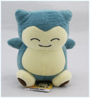 Wholesale stuffed animals for babies - Hot New Cute Snorlax quot cm Plush Doll Stuffed Toy Pikachu Animals For Baby Best Gifts