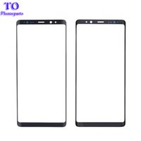 Wholesale note lens cover resale online - 10Pcs OEM Front Outer Glass Lens Cover for Samsung Galaxy Note N950 Front Cover Plate Screen Cover Replacement Parts