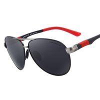 Wholesale high quality aviator glasses - aviator sunglasses Polarized Sunglasses Men Brand Sunglasses HD Polarized Glasses Men Brand Polarized glasses High quality 4 color