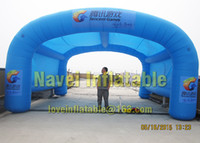 Wholesale Inflatable Event Tents - 8m Inflatable tencent tent for event advertising Promotions with CE UL blower