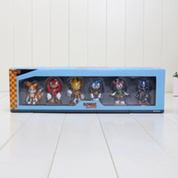 Wholesale 6PCS Sonic The Hedgehog PVC ACtion Figure Toy With Retail Box