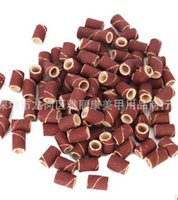 Wholesale Nail Sand Electric - Freeshipping - 1000pcs coarse sanding bands for electric nail drill for professional manicure pedicu