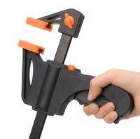 Wholesale Quick Release Ratchet - 6 Inch Wood-Working Bar Clamp Quick Ratchet Release Speed Squeeze DIY Hand Tools