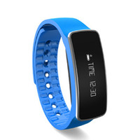 Wholesale bluetooth bracelet oled online – H18 Bluetooth Brand Smart Bracelet inch OLED Waterproof Fitness Tracker Pedo50mah battery for iphone and samsung S7