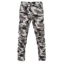 Wholesale Hanging Pants Men - Wholesale-2016 HOT Dnine Autumn Army Fashion Hanging Crotch Jogger Pants Patchwork Harem Pants Men Crotch Big Camouflage Pants Trousers GG