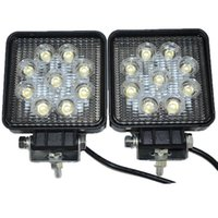 Wholesale Led Offroad Spot 27w - 4Inch SUV Epistar 27W LED Work Light Spot Flood Combo Beam Truck Trailer LED Work Light Offroad Light27W Waterproof Work Light