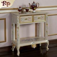 mobiliario clsico de la realeza francesa gabinete barroco de la pintura del grietas del handcraft