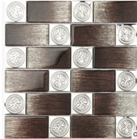 Wholesale manufacturer tablets - The background wall tile wall color mosaic manufacturers selling coffee and mosaic wholesale D-8667