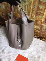 Wholesale Paragraph Rabbit - 2016 introductory paragraph small bucket handbag leather palm print does not fade out wrinkles in the barrel body bags are leather cover hig