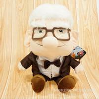 Wholesale Pixar Up Toy - 1pcs New Baby Toys 25cm Pixar Movie UP Carl Fredricksen Grandpa Carl Plush Toy Russell Soft Doll
