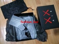 Wholesale Men Leather Bags Discount - Kaws retro 4 cool grey white glow in dark top quality wholesale discount men basketball shoes with dust bag free shipping