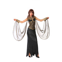 Wholesale Women Cleopatra Costume - Halloween parties animation COSPLAY show adult female nightclub loaded female Wang Gaogui Cleopatra costume
