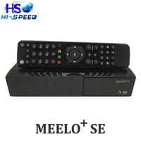 Wholesale Linux Satellite Receivers Wholesale - MEELO SE Twin Tuner Vu Solo 2 SE Update from VU Solo2 Mini Linux Receiver 1300 MHz CPU Din DVB-S2 Tuner Satellite Receiver