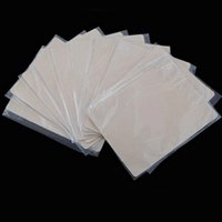 Wholesale Tattoo Sleeves Blank - Hot Sell 10pcs lot Tattoo accesories Practice Skin Blank Plain For Needle Machine Supply X-495 160721#