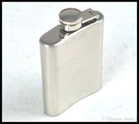 Wholesale 3 oz stainless steel hip flask wine flask liquor flask flachmann wine Whisky Hip Flask Portable BY DHL