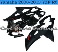 Wholesale Yamaha R6 Motor - Black Bodywork for Motor New Plastic Fairings Kit fit for Yamaha 2008-2013 YZF R6 plastic fit for YZF R6 2008 2009 2010 2011 2013 bodywork