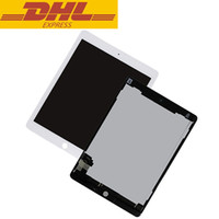 Wholesale Ipad 2nd Digitizer - For Ipad Air 2 2nd Ipad 6 A1567 A1566 LCD Display Touch Screen Digitizer Glass Lens Assembly Replacement Wholesale