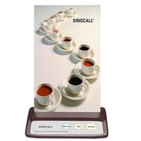 kablosuz hemşire çağrı sistemi toptan satış-SINGCALL Kablosuz Çağrı Çağrı Cihazı 3 seçenekli Muliti-tuşları APE130 Kahve