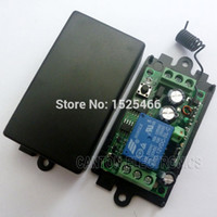 Wholesale Learning Rf Remote Control - DC 12V 433M RF Wireless Receiver Learning code Relay for EV1527 PT2262 ASK OOK Remote control
