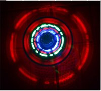 Wholesale Wind Up Christmas Toys - LED Flashing Light UFO Spinning SpinTop Beyblade Gangnam Style Music Laser rotating TOP Wind Up Kids Toy Christmas Party Decor