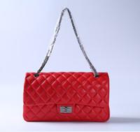 Wholesale Messanger Handbags - Vintage Handbag Women bags Designer handbags wallets for women fashion sheepskin leather chain bag shoulder bag cross body bag messanger bag