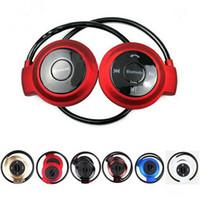 ingrosso cuffia bluetooth samsung s6-Mini 503 Wireless Bluetooth Headphone Stereo Vivavoce Sport Musica Auricolare per Iphone 6 6s 5s Ipad Samsung S6 S5 HTC Apple Auricolari