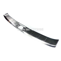Wholesale Stainless Steel Rear Bumper Protector - Stainless Steel Rear Trunk Internal Scuff Plate for Nissan Qashqai 2014 2015 2016 J11 Bumper Door Sill Protector Car Accessories