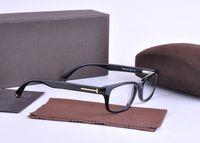 new arrival tf5084 plank frame optical frames glasses for unisex myopia eyeglasses brand designer retro vintage glasses with original case